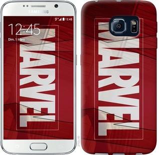 "Чехол на Samsung Galaxy S6 G920 Marvel ""2752c-80-19380"""