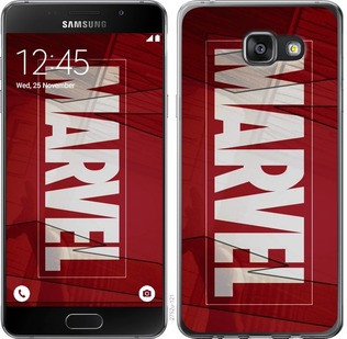 """Чехол на Samsung Galaxy A7 (2016) A710F Marvel """"2752c-121-19380"""""""