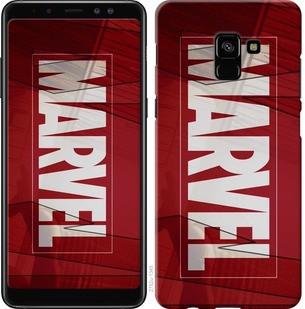 """Чехол на Samsung Galaxy A8 Plus 2018 A730F Marvel """"2752c-1345-19380"""""""