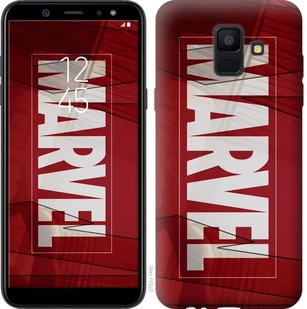 "Чехол на Samsung Galaxy A6 2018 Marvel ""2752c-1480-19380"""