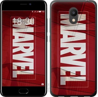 "Чехол на Meizu M6 Marvel ""2752u-1349-19380"""