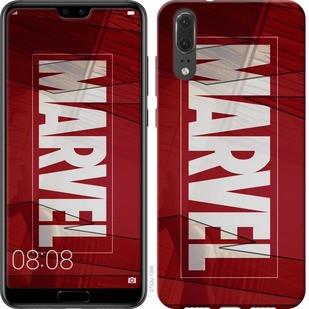 "Чехол на Huawei P20 Marvel ""2752u-1396-19380"""