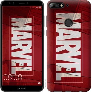 "Чехол на Huawei Y7 Prime 2018 Marvel ""2752u-1509-19380"""