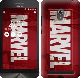 """Чехол на Asus ZenFone 6 A600CG Marvel """"2752u-143-19380"""""""