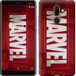 "Чехол на Nokia 7 Plus Marvel ""2752u-1354-19380"""