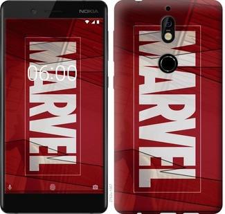 "Чехол на Nokia 7 Marvel ""2752u-1367-19380"""