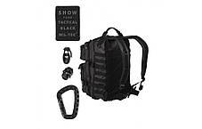Штурмовой (тактический) рюкзак Mil-Tec by Sturm 36 л. USA TACTICAL BLACK (14002288), фото 2