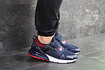 Мужские кроссовки Nike (сине-белые), фото 2
