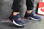 Мужские кроссовки Nike (сине-белые), фото 6