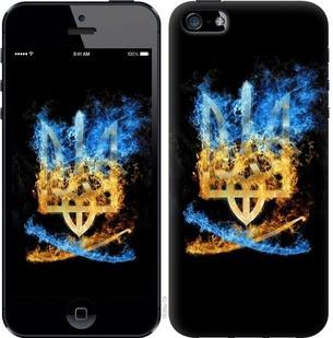 """Чехол на iPhone 5 Герб """"1635u-18-19380"""""""