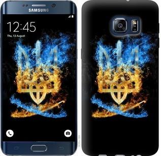 "Чехол на Samsung Galaxy S6 Edge Plus G928 Герб ""1635u-189-19380"""