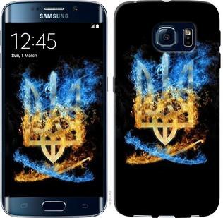 "Чехол на Samsung Galaxy S6 Edge G925F Герб ""1635c-83-19380"""