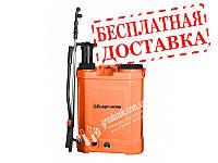 Опрыскиватель аккумуляторный, 16 л с ручной подкачкой (2 в 1) Энергомаш САО-4016П