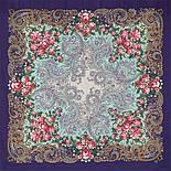 Секрет успеха 1635-13, павлопосадский платок шерстяной (двуниточная шерсть) с шелковой бахромой, фото 4