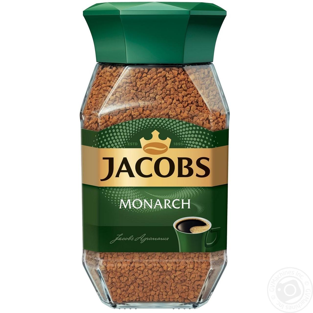 Кофе jacobs monarch растворимый 95г