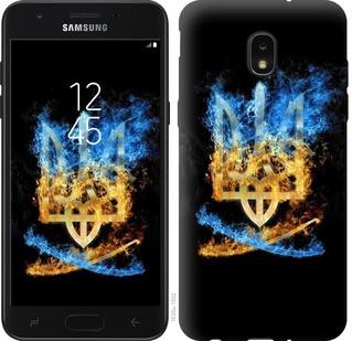 "Чехол на Samsung Galaxy J7 2018 Герб ""1635u-1502-19380"""