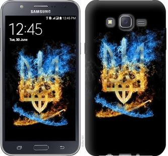 "Чехол на Samsung Galaxy J7 J700H Герб ""1635c-101-19380"""
