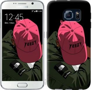 """Чехол на Samsung Galaxy S6 G920 logo de yeezy """"3995c-80-19380"""""""