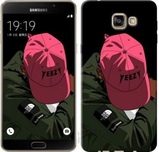"Чехол на Samsung Galaxy A9 A9000 logo de yeezy ""3995u-107-19380"""