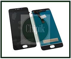 Дисплей для Meizu M3 Note, l681h с сенсорным экраном, черный