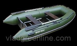 Моторная лодка с килевым днищем Альфа (310х160 см) 5-секций