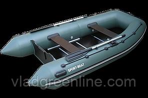 Моторная лодка с килевым днищем Альфа (340х160 см) 5-секций