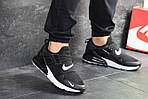 Мужские кроссовки Nike (черно-белые), фото 2