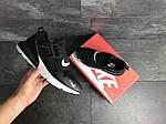 Мужские кроссовки Nike (черно-белые), фото 4