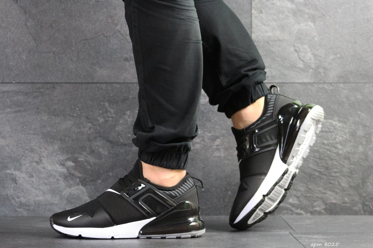Мужские кроссовки Nike (черно-белые)