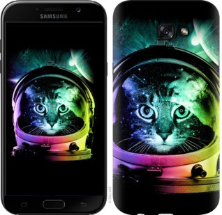 "Чехол на Samsung Galaxy J4 Plus 2018 Кот-астронавт ""4154c-1594-19380"""