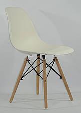Пластиковый стул кухонный в современном стиле Nik для баров, кафе, ресторанов, стильных квартир, фото 2