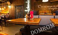 Квадратные столешницы для ресторанов из массива от производителя!