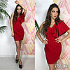 Платье с красивым плечом ,ткань: стрейч-костюмка. Размер:С,М. Разные цвета. ( М136), фото 2