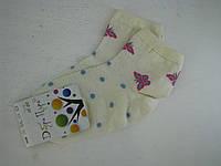 Носки детские Бабочки  сетка18-20