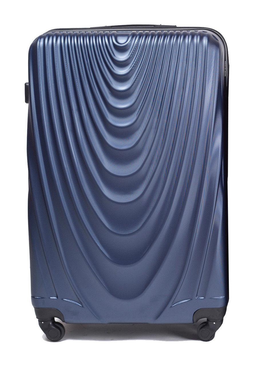 Валіза Wings 305 пластиковий Середній (M) Синій