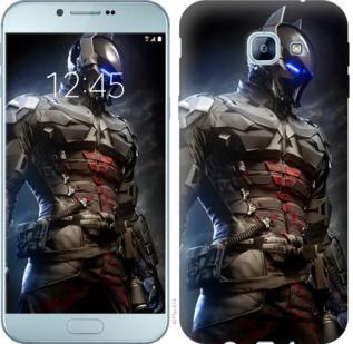 "Чехол на Samsung Galaxy A8 (2016) A810 Рыцарь Аркхема ""4075u-614-19380"""