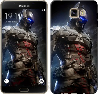 "Чехол на Samsung Galaxy A9 Pro Рыцарь Аркхема ""4075u-724-19380"""