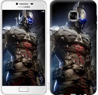 "Чехол на Samsung Galaxy C7 C7000 Рыцарь Аркхема ""4075u-302-19380"""