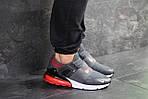 Мужские кроссовки Nike (серые), фото 3