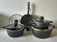 Набор посуды Bohmann BH 6008 MRB 8 предметов, фото 1