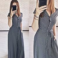 Женское модное платье  ХЗ155 (норма / бат), фото 1