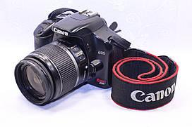 Б/у зеркальный фотоаппарат Canon Rebel XTi (450d) efs 18-55