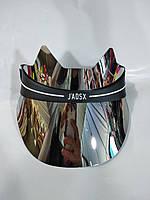 Пластиковый козырек в стиле J'DIOR (J'ADSX) с ушками