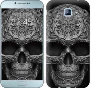 "Чехол на Samsung Galaxy A8 (2016) A810 skull-ornament ""4101u-614-19380"""