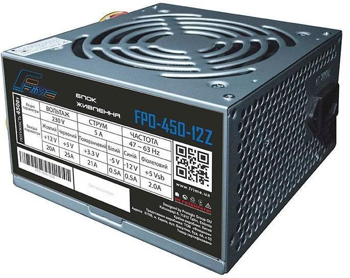 Блок питания 450W Frime FPO-450-12Z