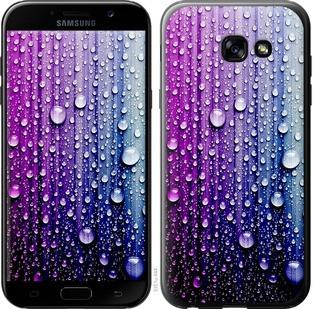 "Чехол на Samsung Galaxy A5 (2017) Капли воды ""3351c-444-19380"""
