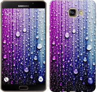 "Чехол на Samsung Galaxy A9 A9000 Капли воды ""3351u-107-19380"""
