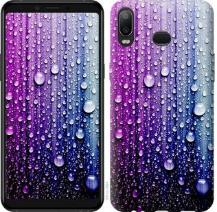 "Чехол на Samsung Galaxy A6s Капли воды ""3351u-1604-19380"""