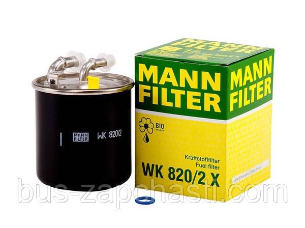 Топливный фильтр на MB Sprinter 906/ Vito 639 2.2 CDI 2006> — MANN (Германия) — WK 820/2 x