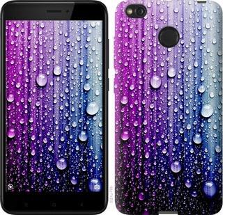 """Чехол на Xiaomi Redmi 4X Капли воды """"3351c-778-19380"""""""